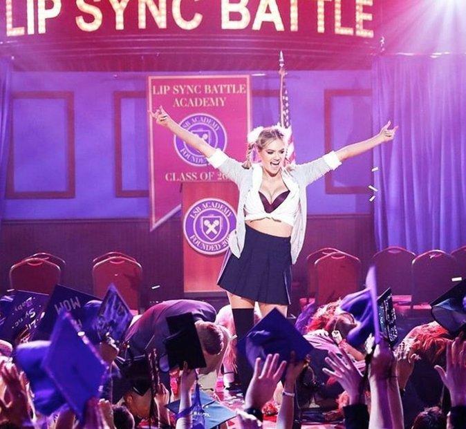 Kate Upton : quand elle se la joue sexy comme Britney Spears, c'est du lourd!