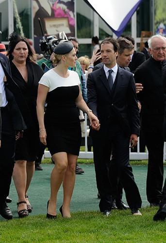 Kate Winslet et son mari, Ned Rocknroll, à Chantilly le 15 juin 2014