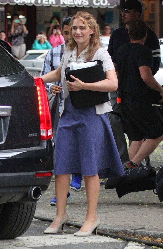 Kate Winslet le 7 juin 2012 à Boston