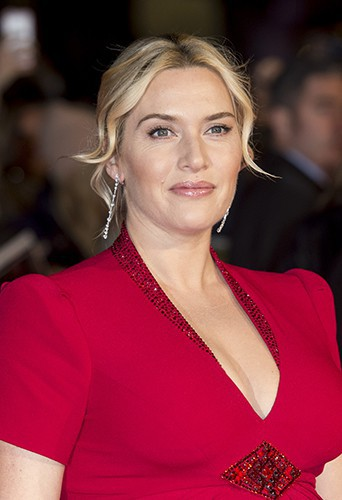 Kate Winslet à Londres le 14 octobre 2013