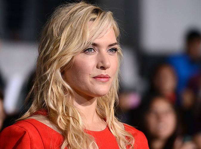 Kate Winslet : glamour et pulpeuse, elle d�gaine l'artillerie lourde en rouge !