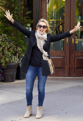 Photos : Kate Winslet surexcitée pour ses 40 ans !