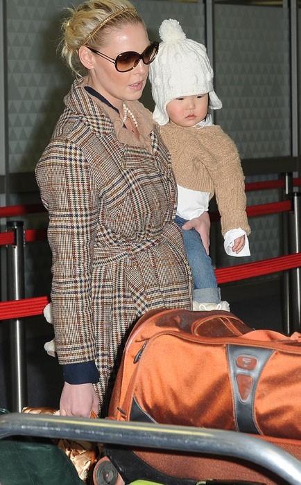 Katherine en mode maman poule