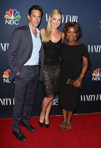 Adam Kaufman, Katherine Heigl et Alfre Woodard à Los Angeles le 16 septembre 2014