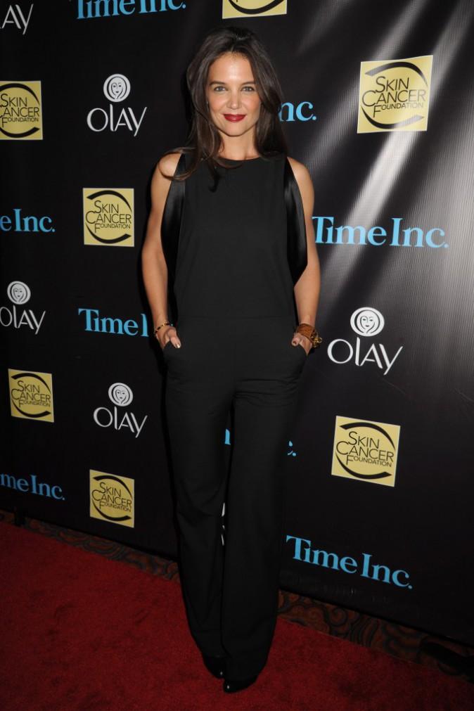 Photos : Katie Holmes : Chic et élégante pour le Gala contre le cancer de la peau !