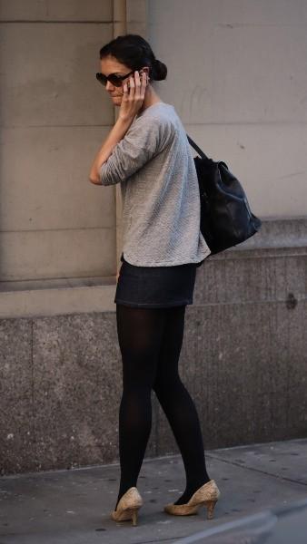 Katie Holmes, New York, 20 octobre 2012.