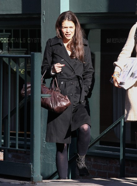 Katie Holmes le 12 février 2013 à New York