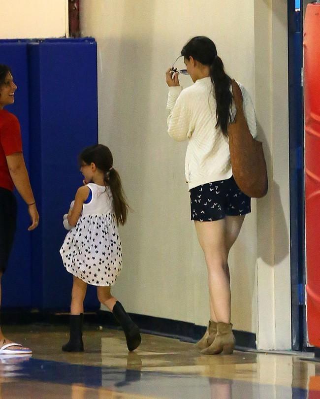 Katie Holmes et Suri Cruise à New-York le 23 août 2012