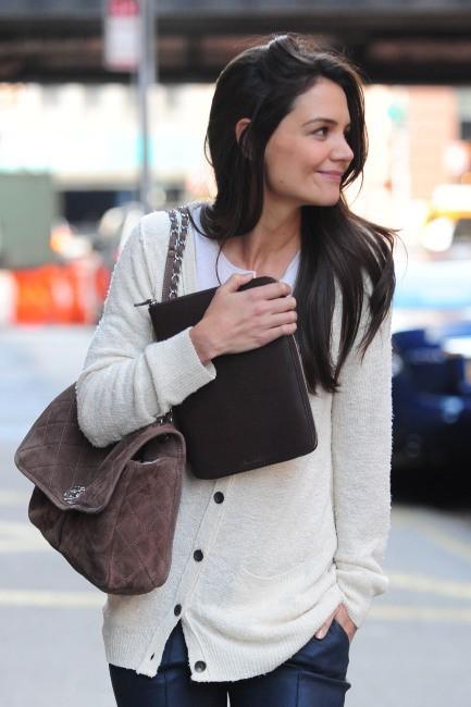 Katie Holmes le 6 novembre 2012 à New York