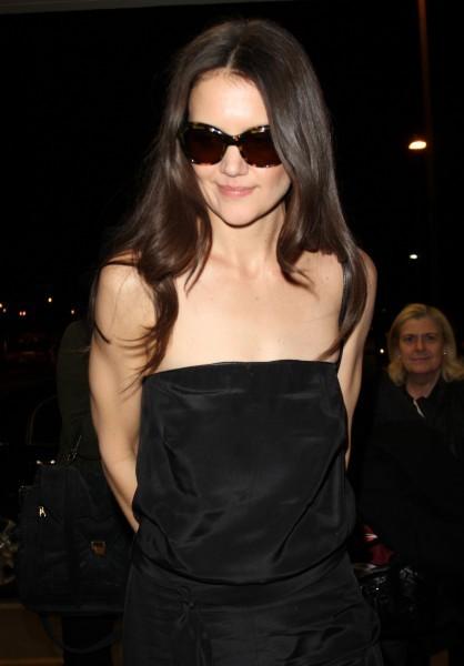 Katie Holmes le 21 février 2013 à Los Angeles