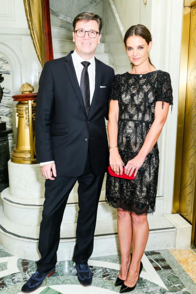 Katie Holmes et Paul James le 11 novembre 2014