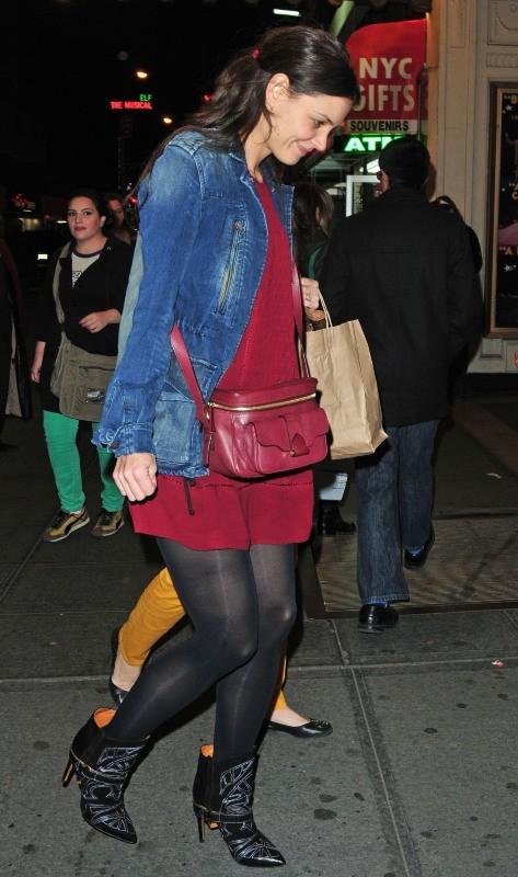Katie Holmes le 10 novembre 2012 à New York