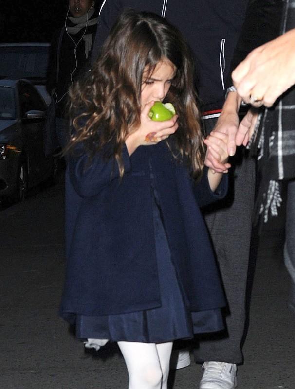 Suri Cruise le 10 novembre 2012 à New York