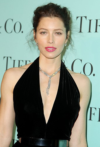 Jessica Biel à New York le 10 avril 2014