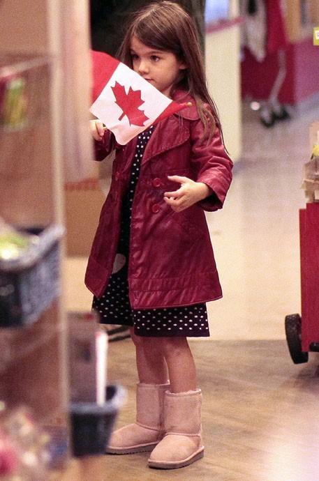 Un simple drapeau canadien suffirait-il à son bonheur ?
