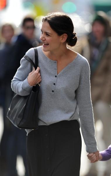 Katie Holmes le 18 novembre 2012 à New York