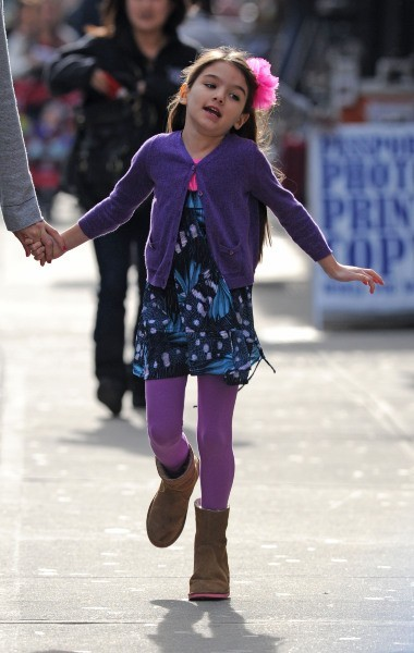 Suri Cruise le 18 novembre 2012 à New York