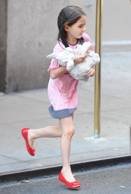 Suri Cruise à New York, le 26 juin 2012.