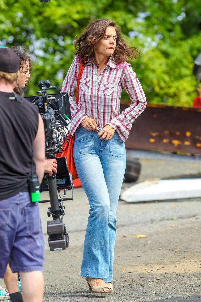 Katie Holmes à New-York le 20 août 2015