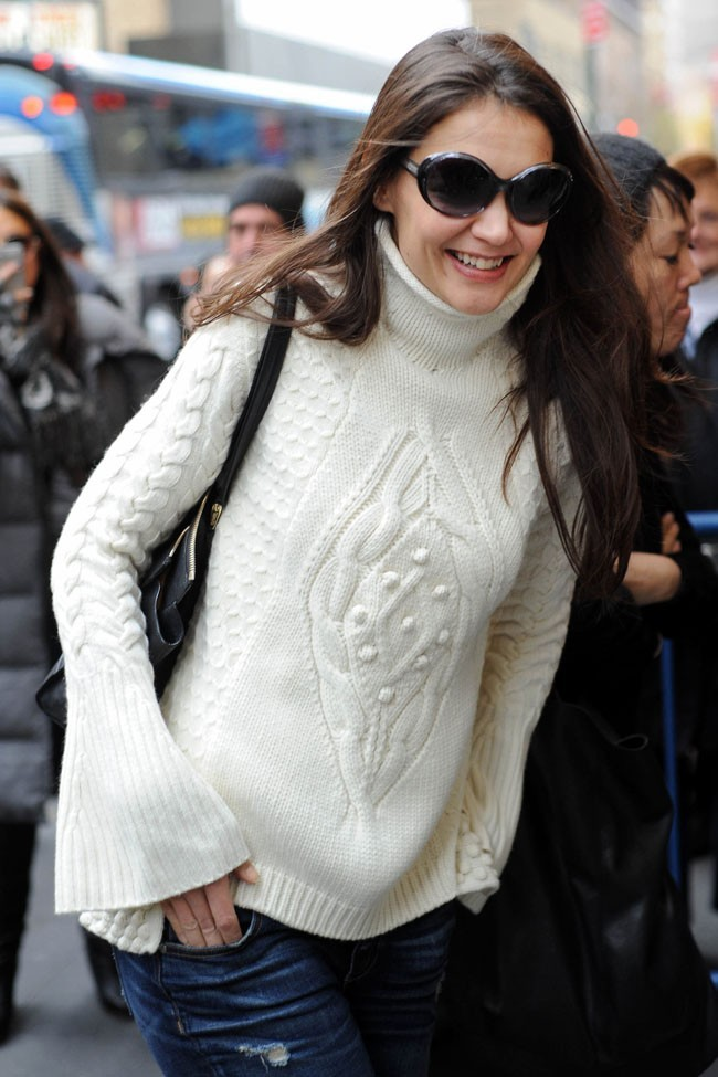 Katie Holmes le 25 novembre 2012 à New York