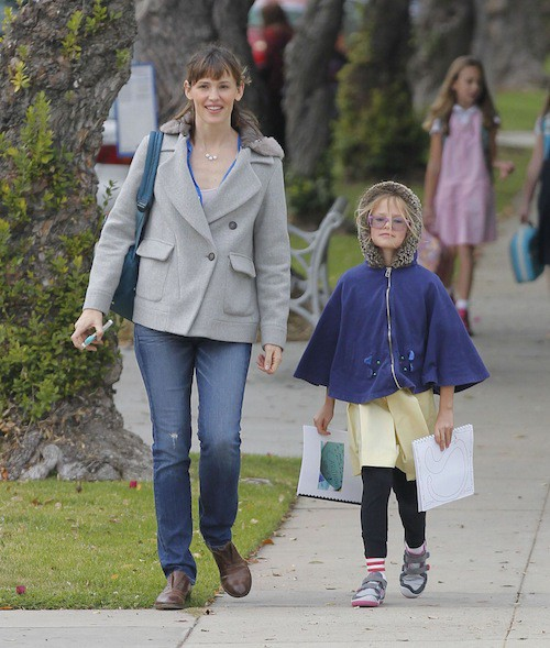 Violet, al fille de Ben Affleck et Jennifer Garner