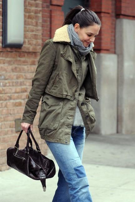 Katie Holmes le 29 janvier 2013 à New York