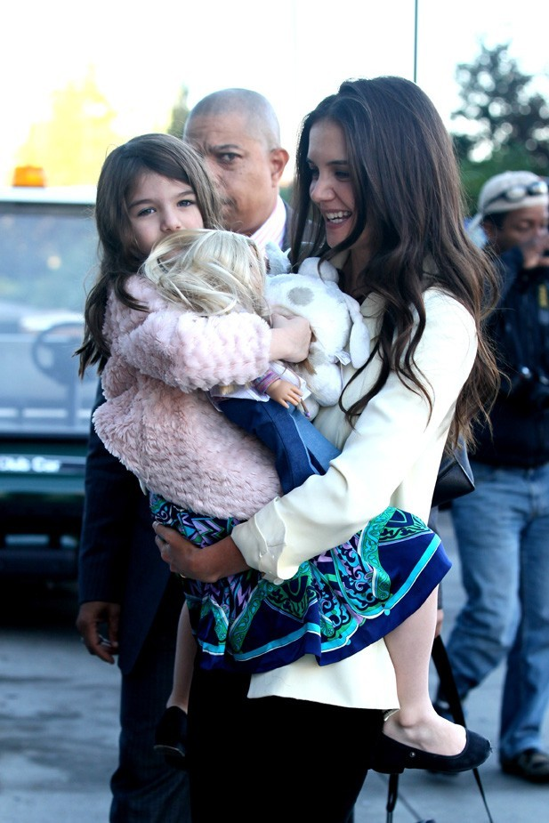Katie Holmes trouve toujours du temps pour sa fille !