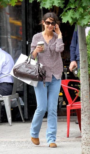 Katie Holmes à New York, le 11 juin 2013