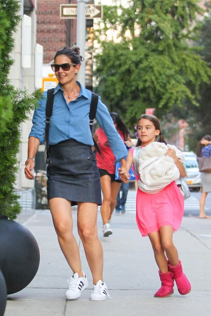 Katie Holmes et Suri Cruise, le 5 août 2015