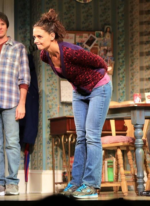 Katie Holmes à la première de sa pièce à Broadway (New-York) le 5 novembre 2012