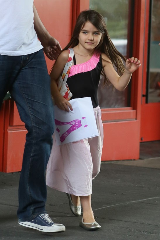 Katie Holmes et Suri Cruise à New-York le 22 juin 2012