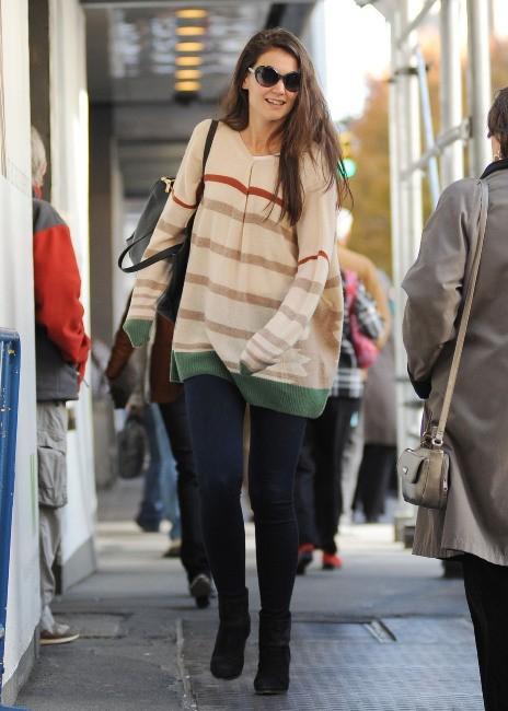 Katie Holmes le 14 novembre 2012 à New York