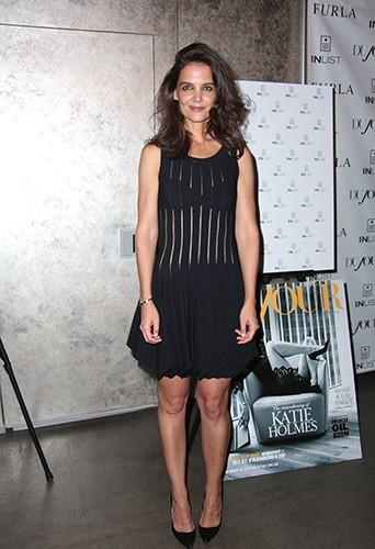Katie Holmes à New York le 16 septembre 2014