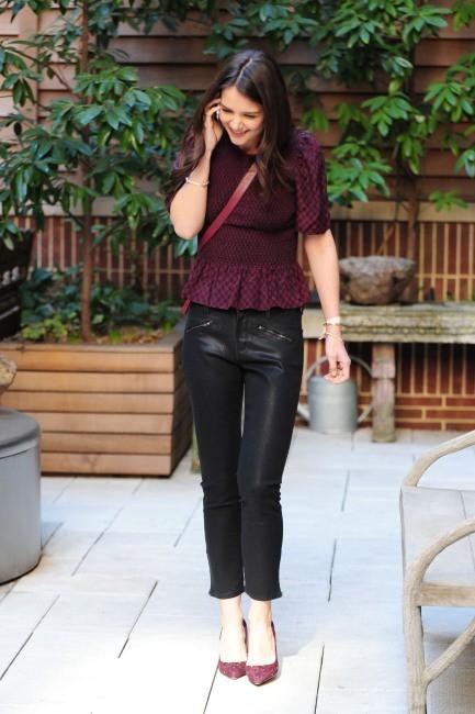 Katie Holmes à New York, le 15 mars 2013.
