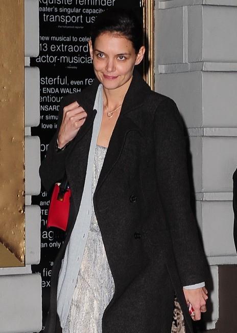 Katie Holmes le 18 décembre 2012 à New York