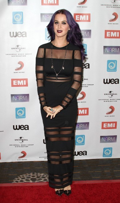 Katy Perry lors des NARM Music Biz Awards à Century City, le 10 mai 2012.