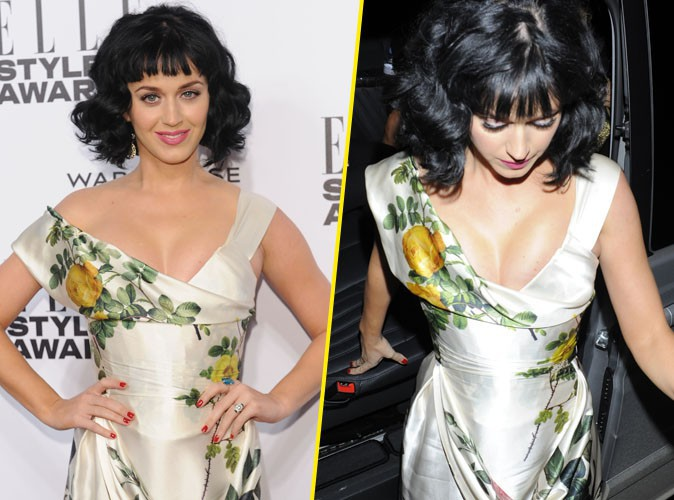 Katy Perry : élue Femme de l'année aux ELLE Style Awards 2014, elle dégaine un savoureux décolleté !
