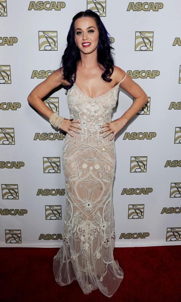 Katy Perry aux derniers ASCAP Awards
