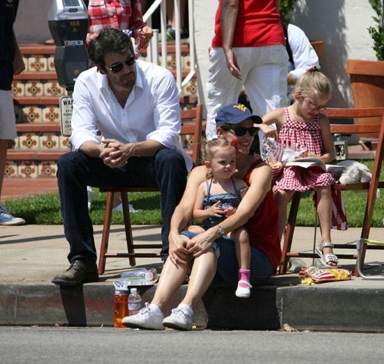 Jennifer Garner en famille pour célébrer le 4 juillet !