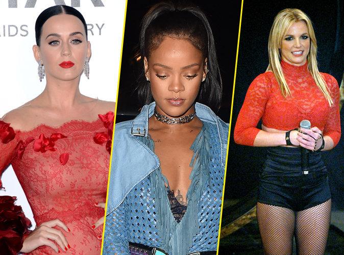 Photos : Katy Perry, Rihanna, Britney Spears : ces stars qui souffrent de l'acné, et qui le cachent bien !