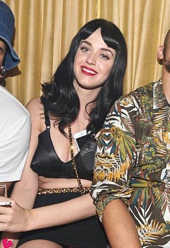 Katy Perry lors de l'anniversaire de Walshy Fire au 1 Oak à New York, le 25 avril 2014.