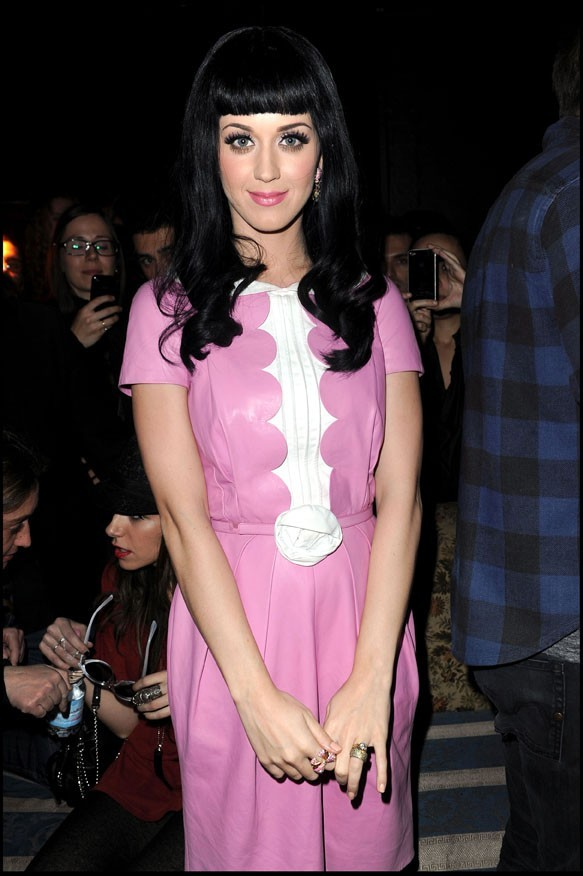 Katy Perry à la Vogue Eyewear party à Milan, le 23 février 2011.
