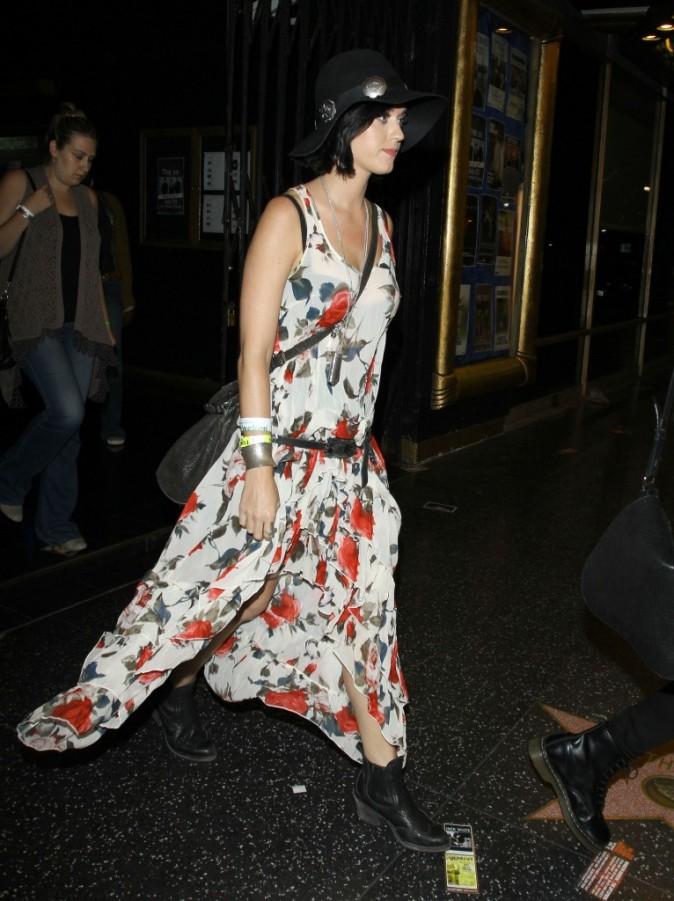 Katy Perry au concert des XX, Hollywood, 23 juillet 2012