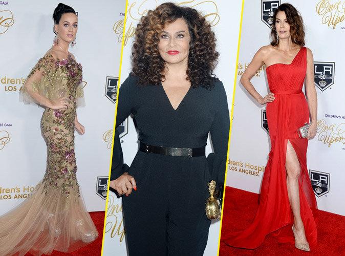 Katy Perry, Tina Knowles, Teri Hatcher... Pluie de stars au gala