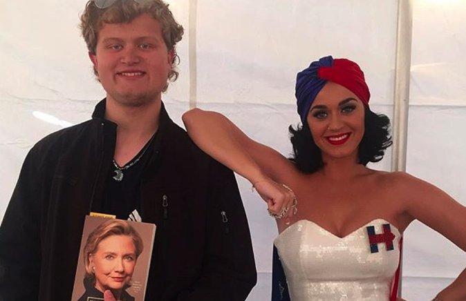 Photos : Katy Perry : Un soutien de charme pour Hillary Clinton !