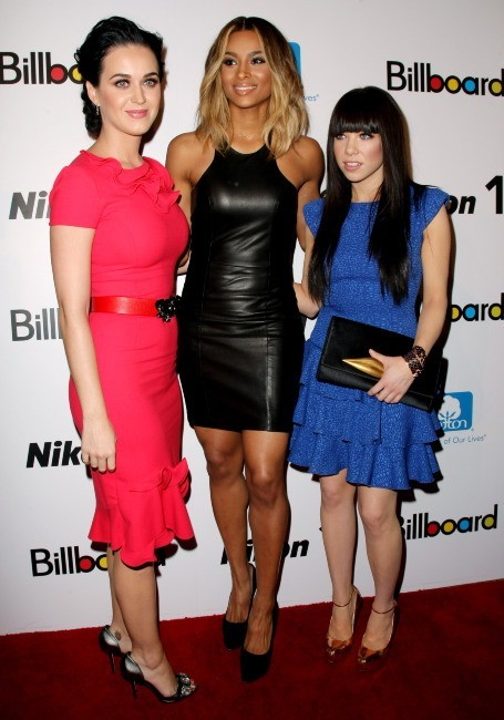 Katy Perry, Ciara et Carly Rae Jepsen le 30 novembre 2012 à New York