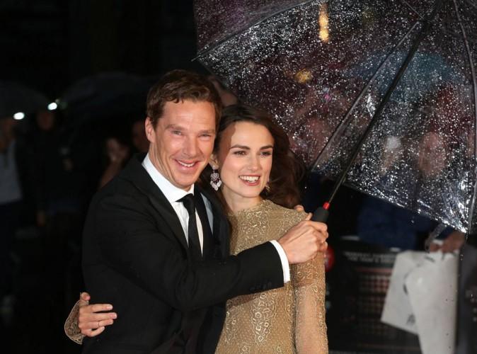 Keira Knightley : avant-première pluvieuse, avant-première heureuse !