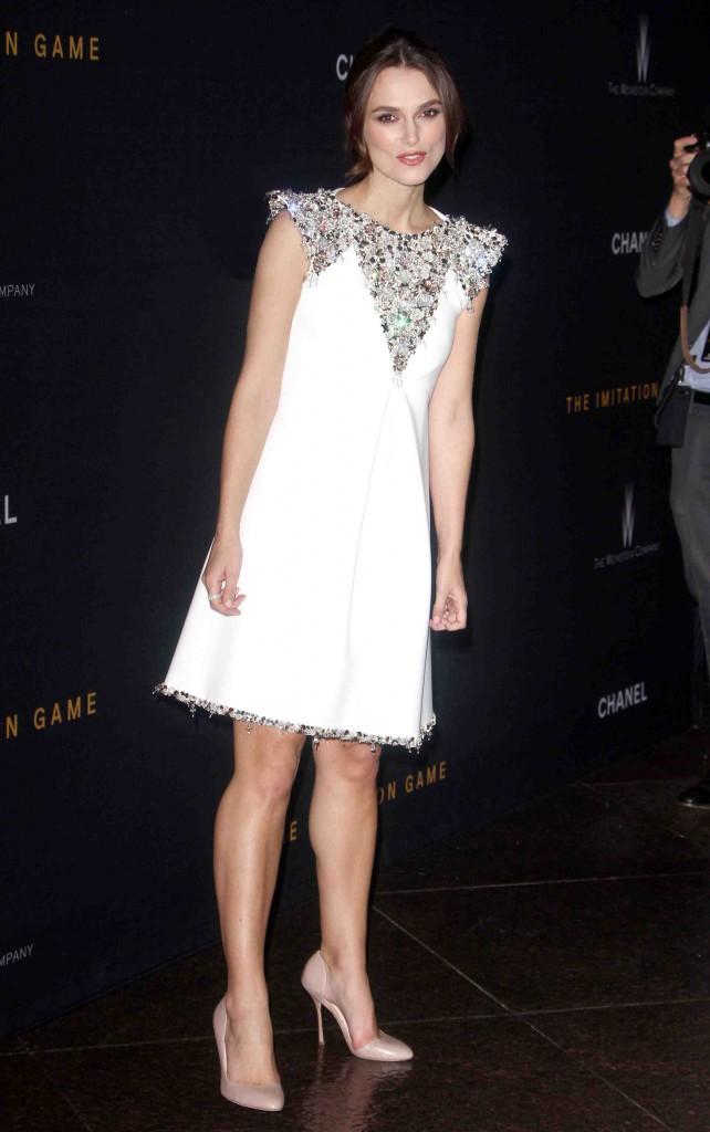 Keira Knightley : beauté angélique pour présenter son nouveau film !
