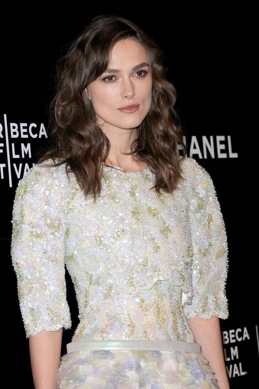 Keira Knightley au Festival du Film de Tribeca de New-York le 26 avril 2014