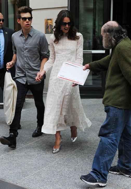 Keira Knightley et son mari James Righton à New-York le 25 juin 2014